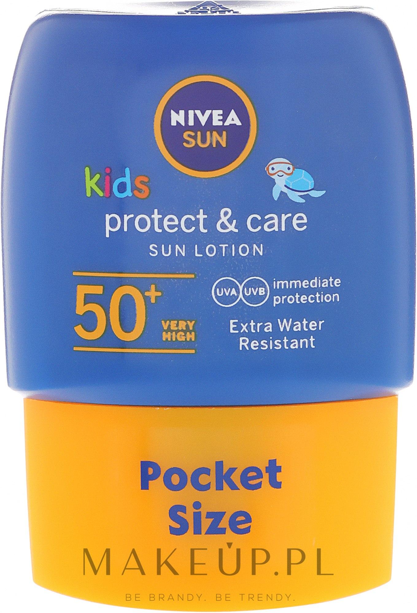 Przeciwsłoneczny balsam dla dzieci SPF 50 - Nivea Sun Care Kids Lotion — фото 50 ml