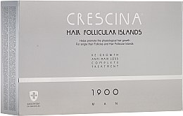 Kup Kuracja dla mężczyzn stymulująca odrastanie włosów i zapobiegająca ich wypadaniu 1900 - Crescina Hair Follicular Island Re-Growth+Anti-Hair Loss 1900 Man
