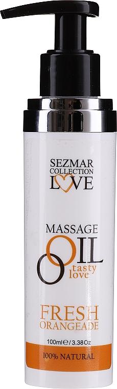 Zestaw - Sezmar Collection Love Crystal (sh/gel/250ml + massage/oil/100ml + b/lot/200ml) — фото N4