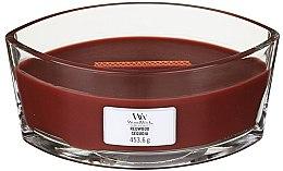 Kup Świeca zapachowa w szkle - Woodwick Hearthwick Flame Ellipse Candle Redwood