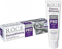 Kup Wybielajaca pasta do zębów do szczoteczek elektrycznych - R.O.C.S. Pro Electro & Whitening Mild Mint