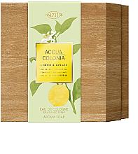 Kup Maurer & Wirtz 4711 Aqua Colognia Lemon & Ginger - Zestaw (col 170 ml + soap 100 g)