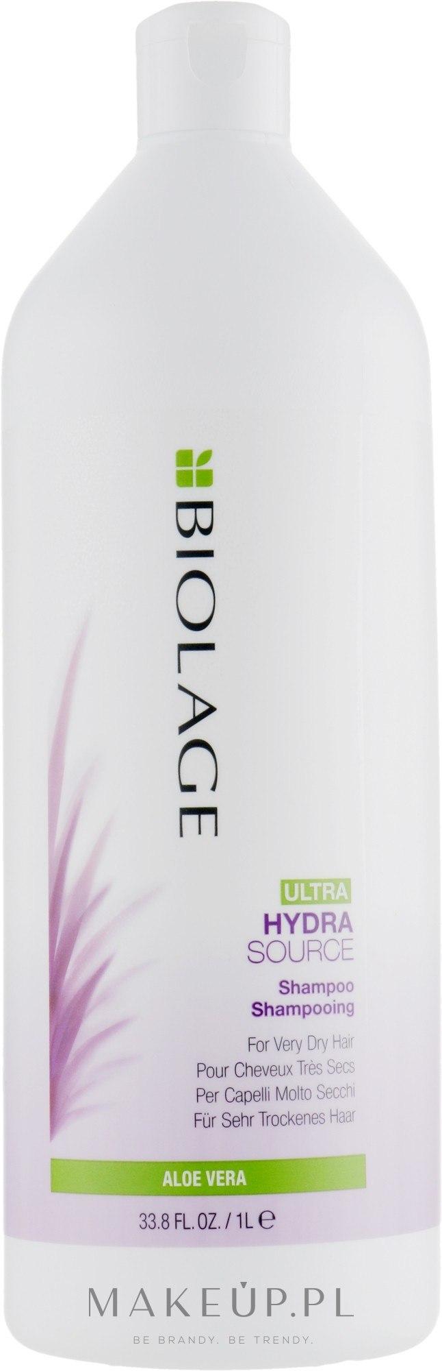 Nawilżający szampon do włosów bardzo suchych - Biolage Ultra Hydrasource Shampoo — фото 1000 ml
