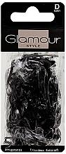Kup Gumki do włosów, 0261, czarne - Glamour
