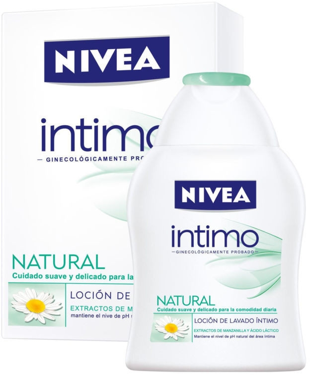 Naturalna emulsja do higieny intymnej - Nivea Intimo Intimate Wash Lotion Natural — фото N1