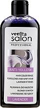 Kup Płukanka do włosów blond i siwych Srebrne refleksy - Venita Salon Professional Lavender Anti-Yellow Hair Color Rinse