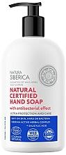 Kup Antybakteryjne mydło do rąk - Natura Siberica Cosmos Natural Certified Hand Soap
