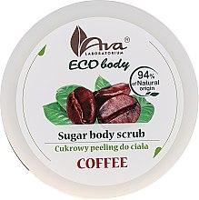Kup Cukrowy peeling do ciała Kawa - Ava Laboratorium Eco Body