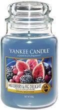Kup Świeca zapachowa w słoiku - Yankee Candle Mulberry And Fig Delight