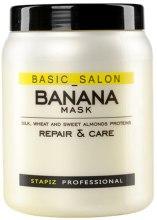 Kup Regenerująca maska do włosów zniszczonych Banan - Stapiz Basic Salon Banana Mask