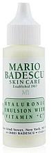 Kup Emulsja do twarzy z kwasem hialuronowym i witaminą C - Mario Badescu Hyaluronic Emulsion With Vitamin C