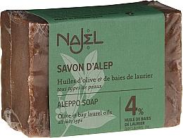 Kup Mydło Aleppo z 4% oliwy z oliwek - Najel 4% Aleppo Soap