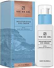 Kup Nawilżający krem pod oczy z minerałami z Morza Martwego - Vie De Sel Moisturizing Eye Cream