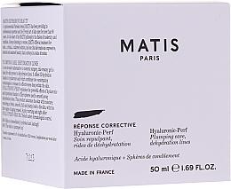 Kup Nawilżający krem do twarzy wypełniający zmarszczki - Matis Hyaluronic-Perf Plumping Care