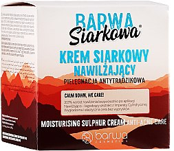 Kup Nawilżający krem siarkowy do twarzy - Barwa Siarkowa
