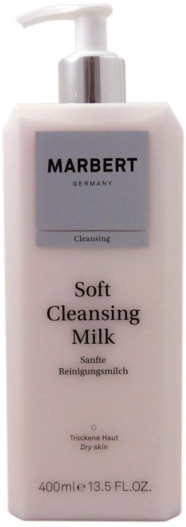 Łagodne mleczko oczyszczające do twarzy - Marbert Soft Cleansing Milk Gentle Cleansing Lotion — фото N1
