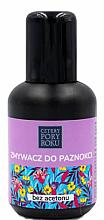 Kup Zmywacz do paznokci bez acetonu - Cztery Pory Roku Four Seasons Nail Polish Remover Without Acetone