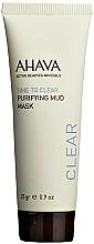 Kup Oczyszczająca maseczka błotna do twarzy - Ahava Time To Clear Purifying Mud Mask