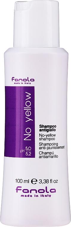 Szampon neutralizujący żółte tony włosów - Fanola No-Yellow Shampoo