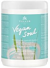 Kup Maska zwiększająca objętość włosów z ekstraktem z bambusa i olejem kokosowym - Kallos Cosmetics KJMN Vegan Soul Volumizing Hair Mask