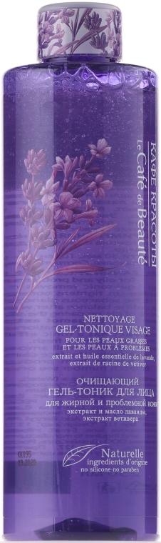 Oczyszczający żel-tonik do skóry tłustej i problematycznej - Le Café de Béaute