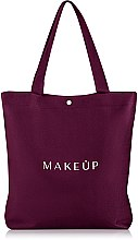 Kup Bordowa torba shopper Easy Go (35 x 39 x 8 cm) - Makeup