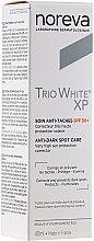 Kup Ochronny krem przeciw przebarwieniom do twarzy na dzień SPF 50+ - Noreva Laboratoires Trio White XP Anti-Dark Spot Care Day Cream
