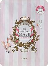 Kup Nawilżająca maseczka do twarzy Czarna herbata - A:t fox Moisturizing Black Tea Mask
