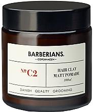 Kup Wodna pomada do układania włosów - Barberians. №C2 Hair Clay Matt Pomade