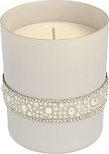 Kup Świeca zapachowa w szkle, 8 x 9,5 cm, szara - Artman Crystal Pearl Glass