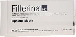 Kup Żel zwiększający objętość ust i poprawiający ich kontur, Grade 4 Plus - Fillerina Lips And Mouth Grade 4 Plus