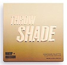 Kup Makeup Obsession Throw Shade Contour Palette - Paletka do konturowania twarzy