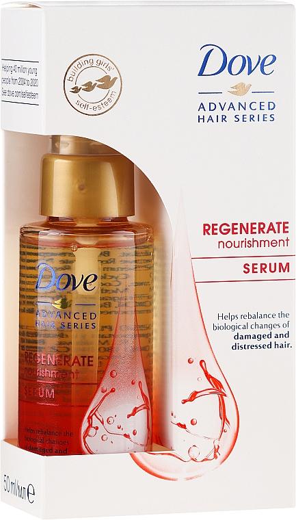 Regenerujące serum w olejku do bardzo zniszczonych włosów - Dove Advanced Hair Series Serum In-Oil Regenerate Nourishment