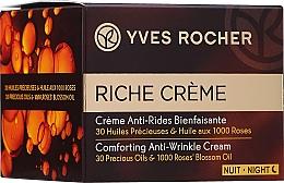 Kup PRZECENA! Rewitalizujący krem przeciwzmarszczkowy na noc - Yves Rocher Riche Crème Anti-Wrinkle Regenerating Night Cream*