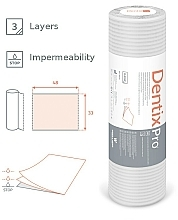 Jednorazowe serwety stomatologiczne - Dentix Pro Classic White  — фото N3