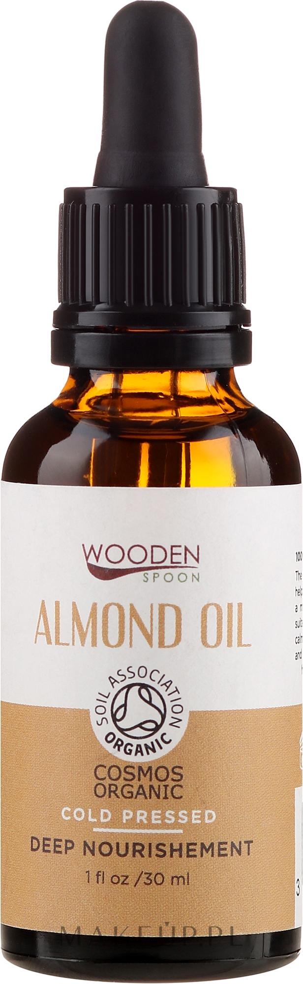 Olej migdałowy - Wooden Spoon Almond Oil — фото 30 ml