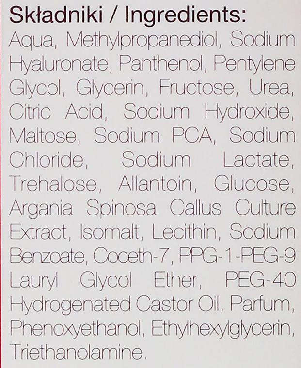 Serum do twarzy, szyi i dekoltu Hialuronowe nawilżenie - Marion Golden Skin Care — фото N4
