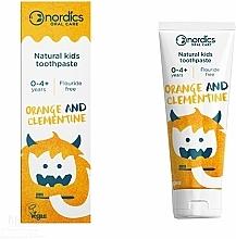 Kup Pasta do zębów dla dzieci Pomarańcza i klementynka - Nordics Kids Orange Clementine Toothpaste