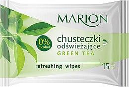 Kup Chusteczki odświeżające Green Tea, 15 szt. - Marion