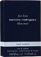 Kup PRZECENA! Narciso Rodriguez For Him Bleu Noir - Zestaw (2x25ml)*