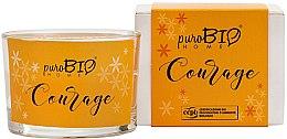 Kup Organiczna świeca zapachowa Ylang-ylang - PuroBio Home Organic Courage
