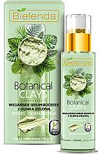 Kup Wegańskie serum-booster z glinką zieloną do cery mieszanej i tłustej Detoks i normalizacja - Bielenda Botanical Clays