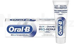 Kup Wybielająca pasta do zębów - Oral-B Professional Gum & Enamel Pro-Repair Gentle Whitening