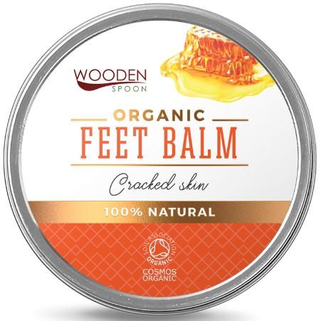 Organiczny balsam do stóp na spękaną skórę - Wooden Spoon Feet Balm Cracked Skin — фото N1