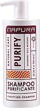 Kup PRZECENA! Szampon oczyszczający - Napura Purify Purifying Shampoo *
