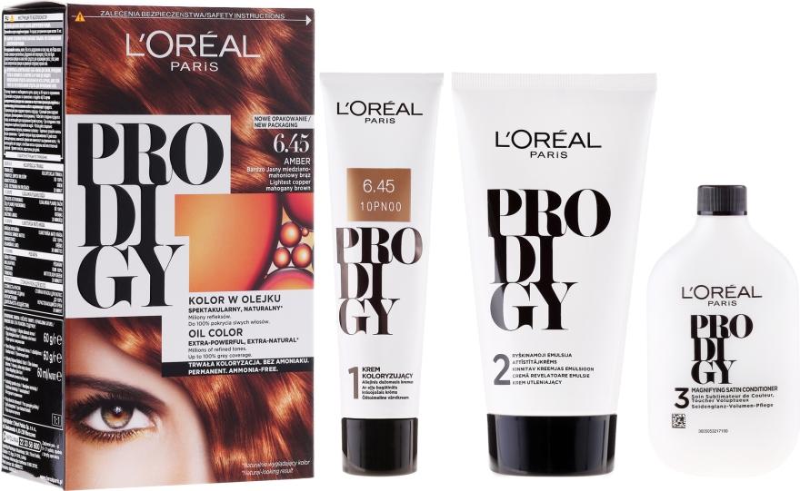 Trwała farba do włosów bez amoniaku - L'Oreal Paris Prodigy