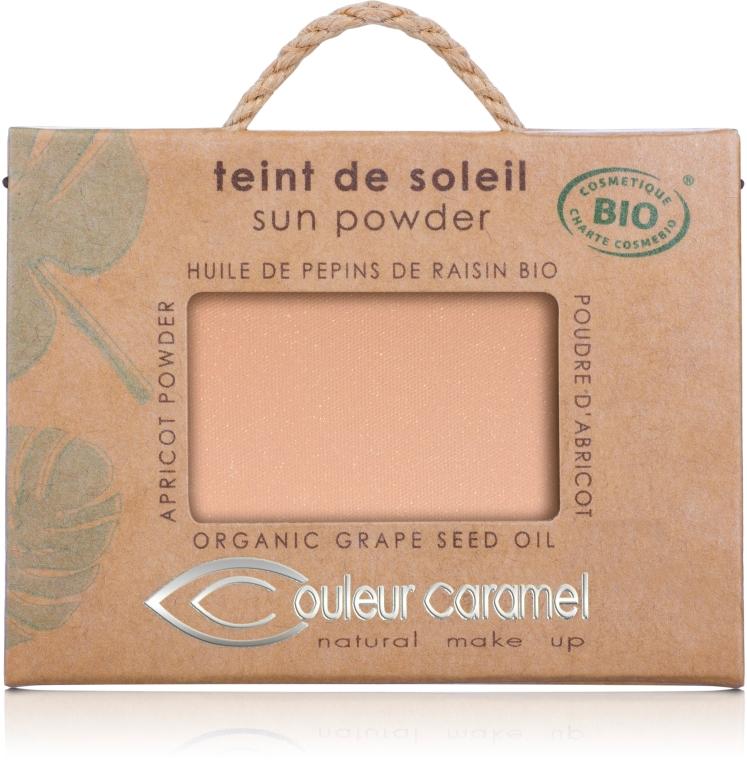 Słoneczny puder do twarzy - Couleur Caramel Sun Powder — фото N1