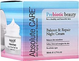 Kup Balansująco-rewitalizujący krem do twarzy na noc - Absolute Care Prebiotic Beauty Balance&Repair Night Cream