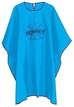 Kup Peleryna fryzjerska, jeden rozmiar, jasnoniebieska - Ronney Professional Hairdressing Cape One Size