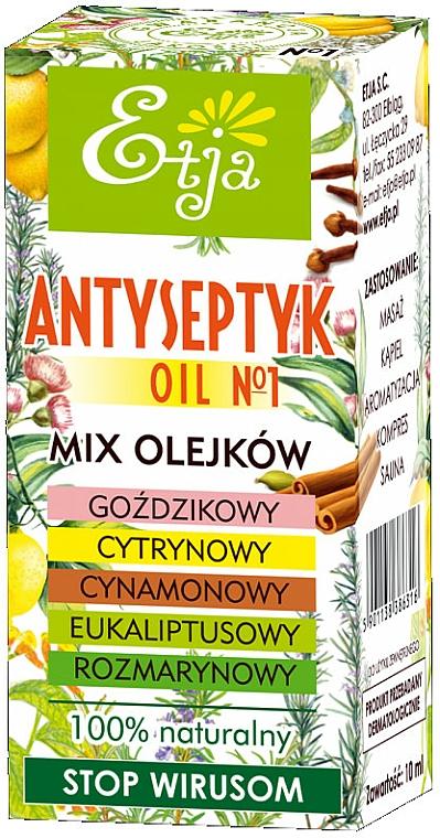 Naturalny olejek eteryczny, Antyseptyczny - Etja — фото N1